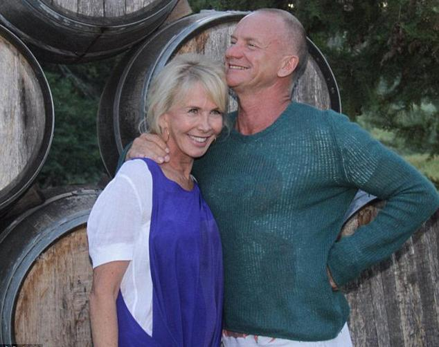Sting and Trudy