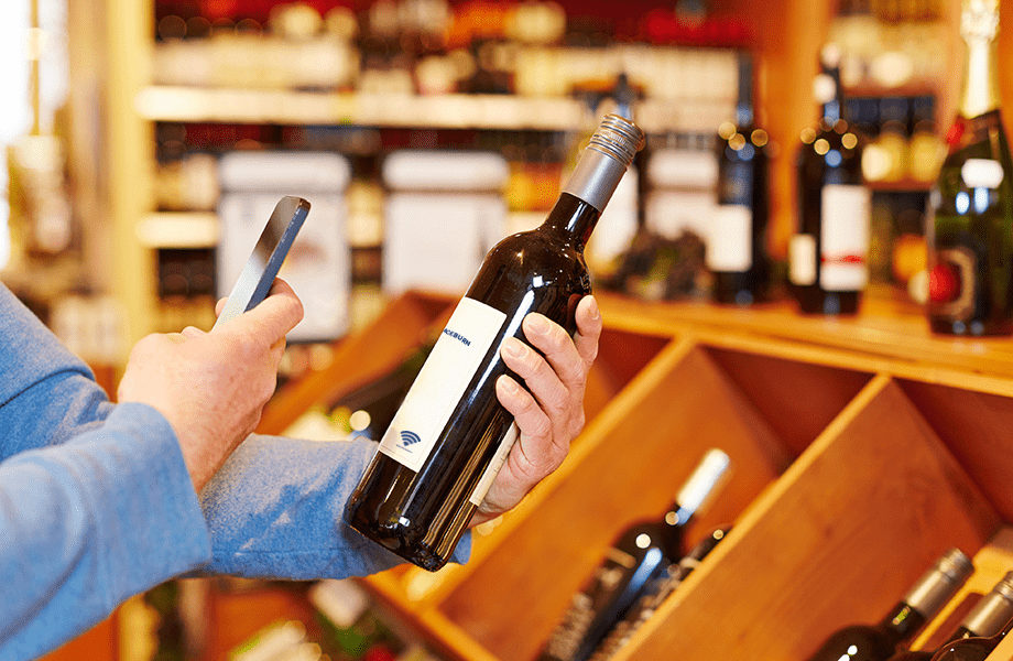 Connected label: NFC technology modernizes wine packaging