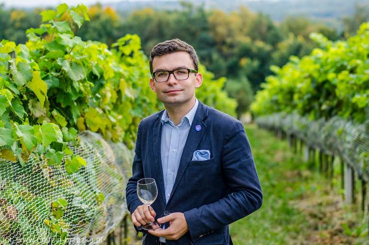 """Radoslaw Fron: """"Polish wine has confirmed that this is not a temporary fashion, but a real revival of wine culture!"""""""