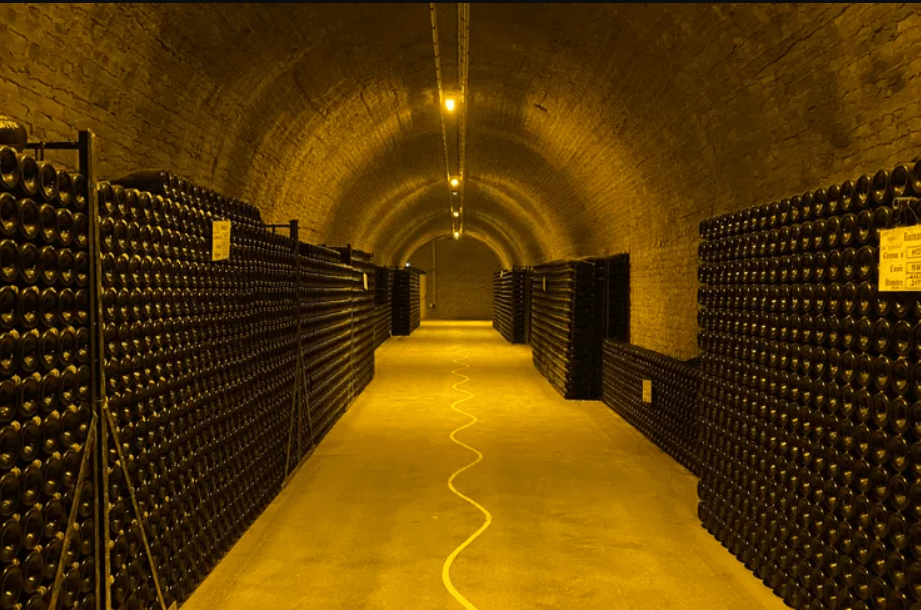 Champagne producers