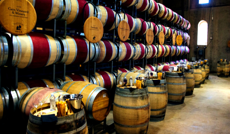 Auction Napa Valley Barrel Tasting