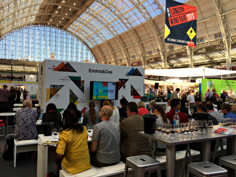 London Wine Fair Zones