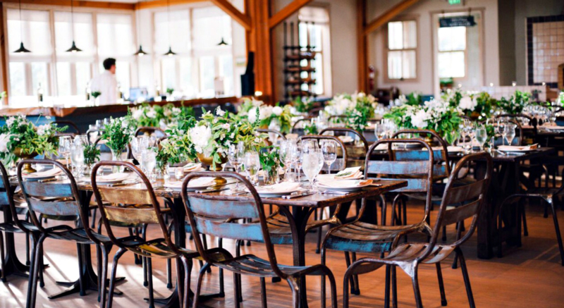 Pippin Hill Farm  Vineyards Tables Decor